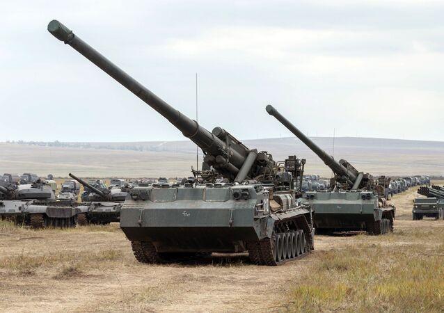 مدفع بيون النووي لدى الجيش الروسي