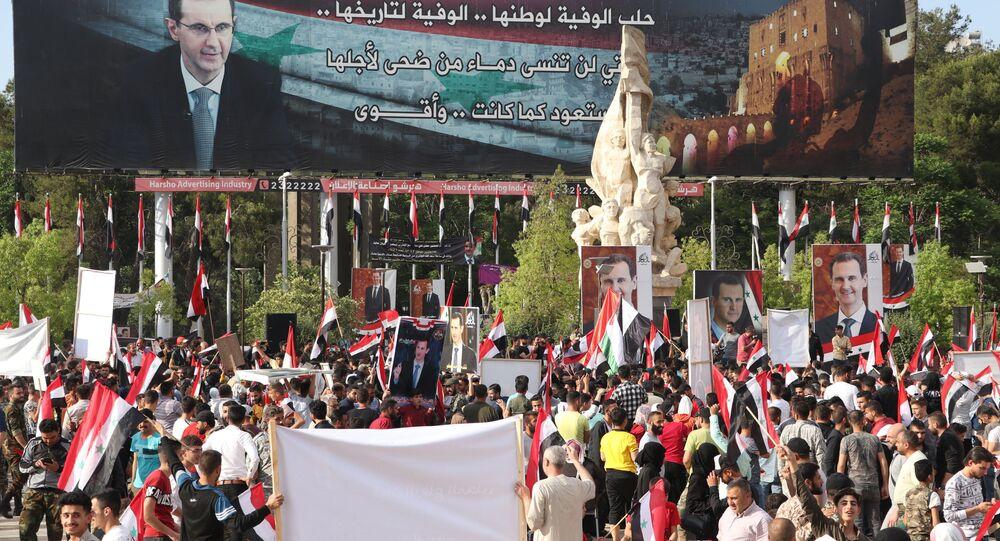 حلب تشارك في الانتخابات الرئاسية