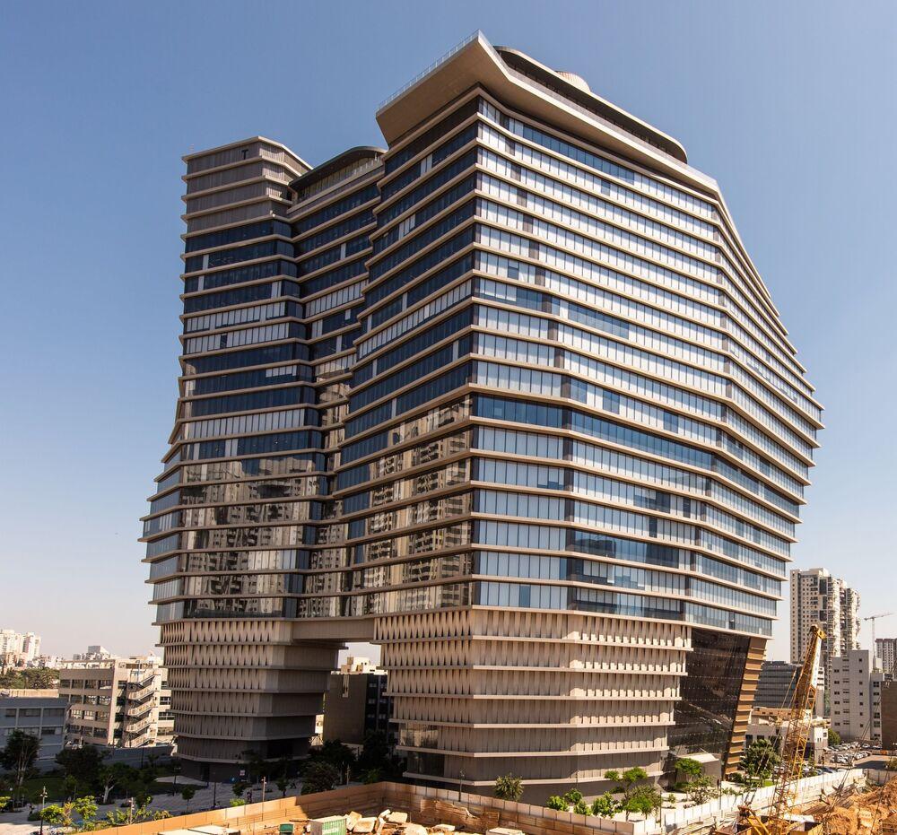 برج للمكاتب العمل توها تاور (ToHA Tower) في تل أبيب، إسرائيل