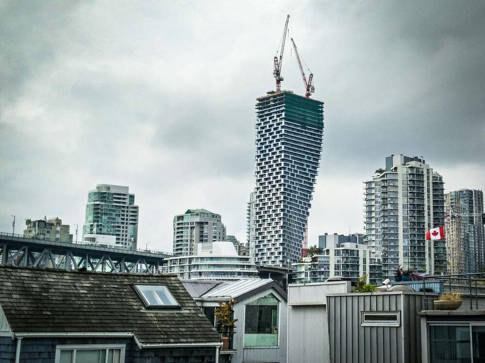 مبنى فانكوفر هاوس (Vancouver House)  في فانكوفر، كندا