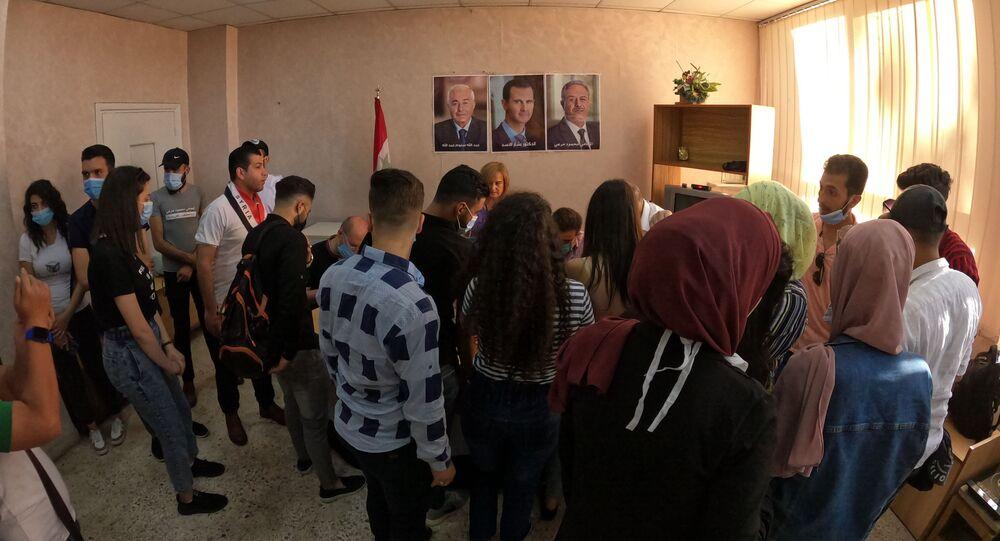 الانتخابات الرئاسية السورية في حلب