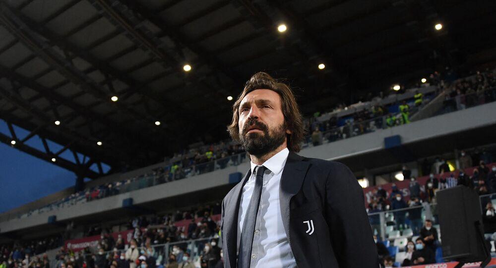 مدرب نادي يوفنتوس الإيطالي، أندريا بيرلو