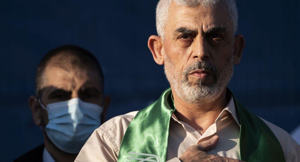 يحيى السنوار، رئيس حركة حماس في قطاع غزة