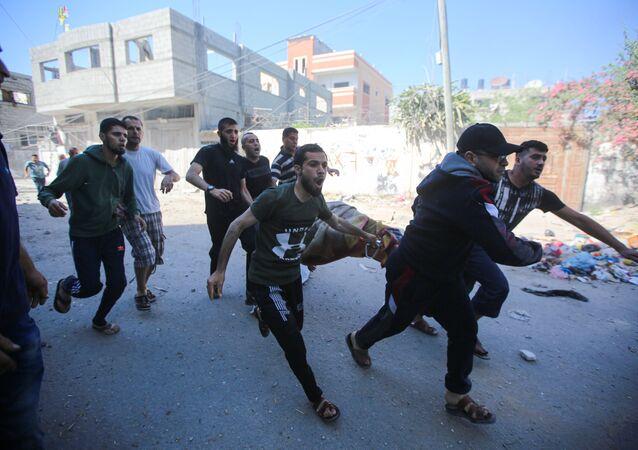 قصف الطيران الحربي الإسرائيلي على غزة