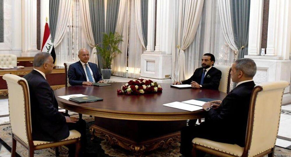 اجتماع الرئاسات في العراق