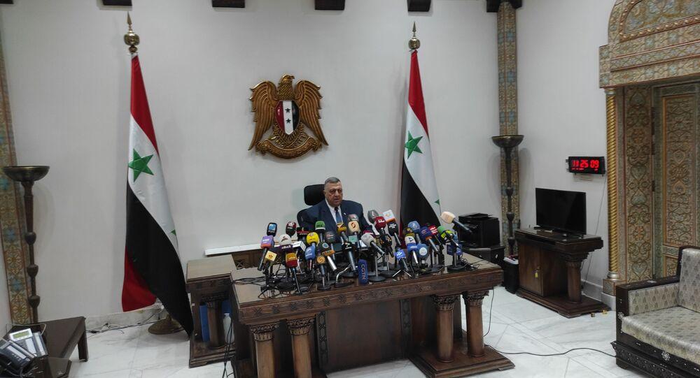 إعلان نتيجة الانتخابات الرئاسية السورية