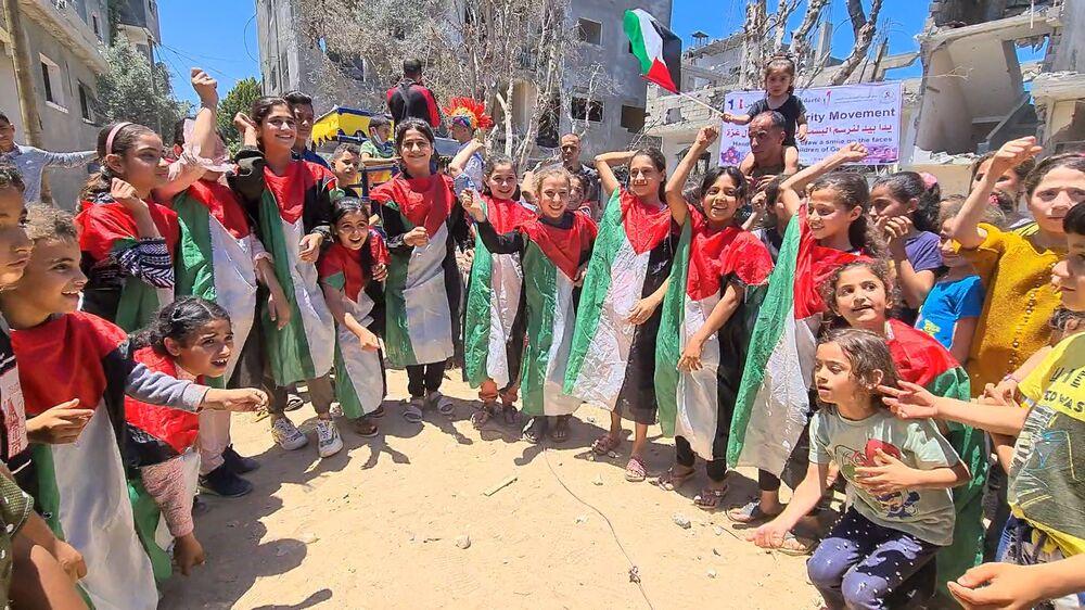 مبادرة ترفيهية لأطفال قطاع غزة