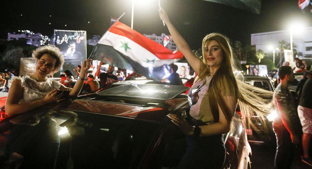 فوز الرئيس بشار الأسد في الانتخابات الرئاسية السورية