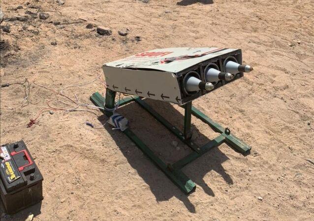 ضبط منصة كاتيوشا في جنوب غرب بغداد