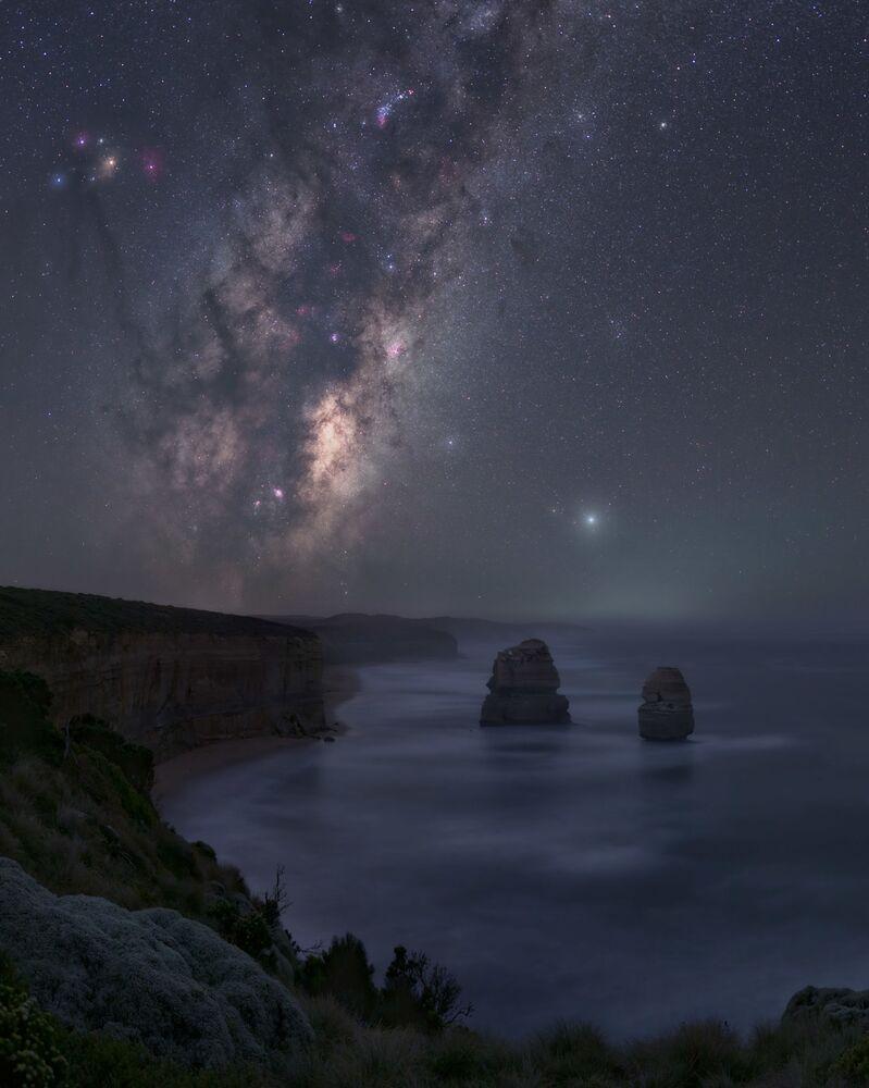 صورة بعنواننيكتوفيليا (تفضيل الليل: في استراليا)، للمصور خوسيه لويس كانتابرانا، الحاصلة على جائزة مسابقة تصوير مجرة درب التبانة لعام 2021