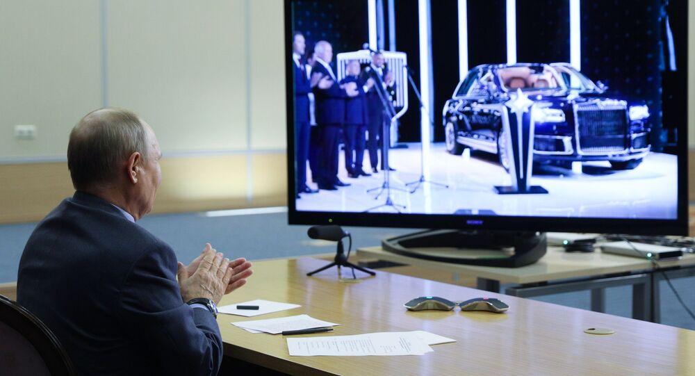 بدء الإنتاج التسلسلي لسيارات أوروس سينات