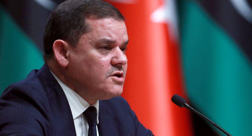 رئيس الحكومة الليبية عبد الحميد دبيبة