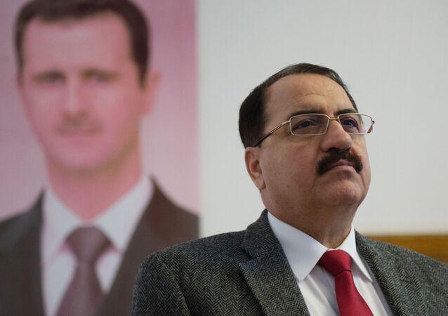 سفير سوريا إلى روسيا رياض حداد