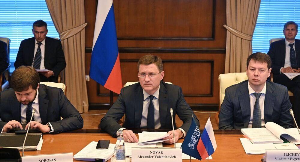 نائب رئيس الوزراء الروسي ألكسندر نوفاك، روسيا