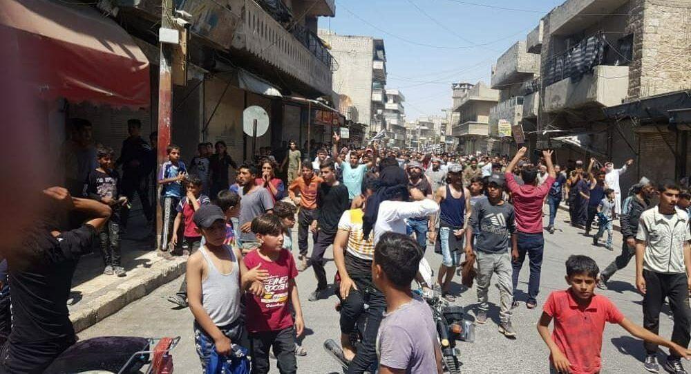 مظاهرات عشائرية في سوريا