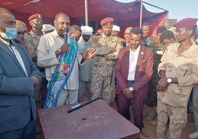 نائب رئيس التحالف السوداني ورفاقه