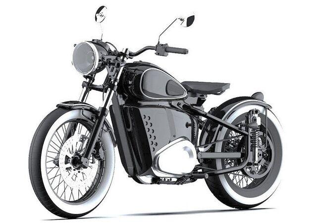 دراجة نارية بطاقة الكهرباء إج-49