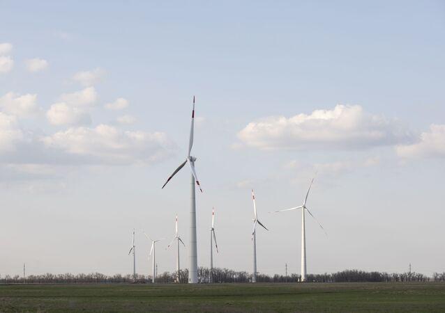 توربينات طاقة من الرياح