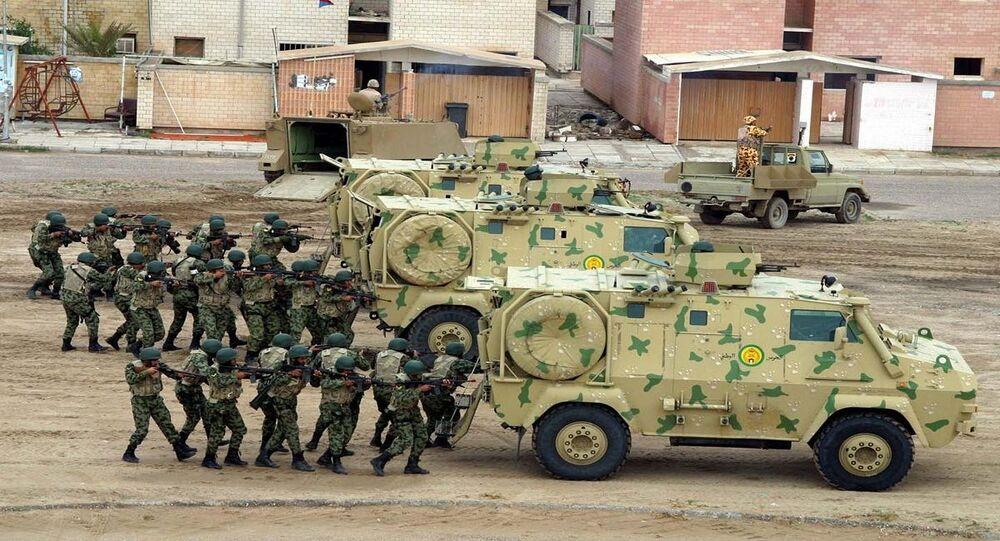 قوات من الحرس الوطني الكويتي