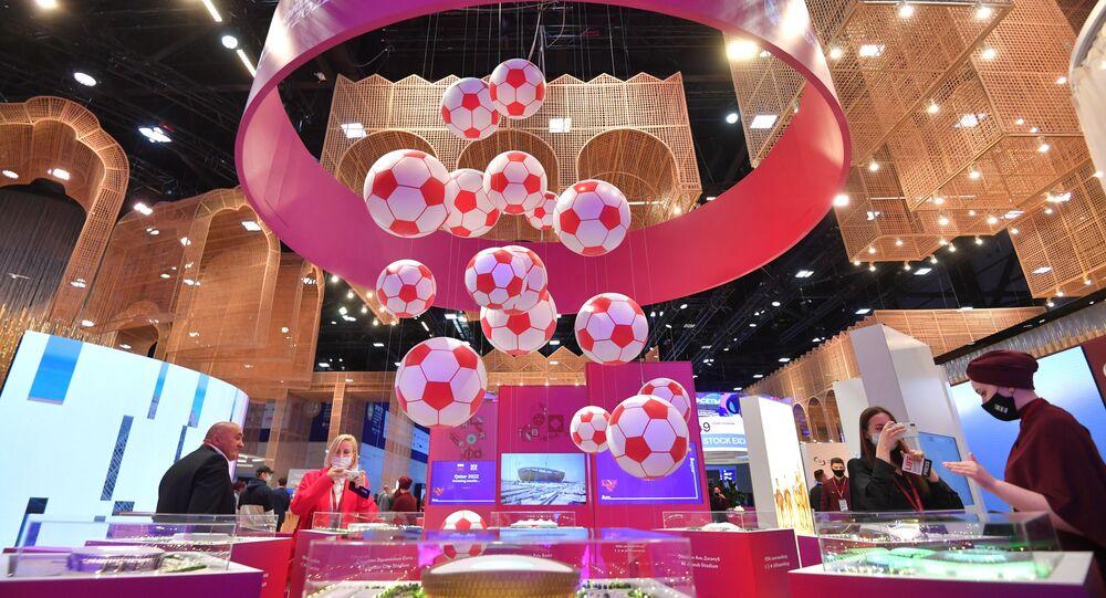 قطر في منتدى سان بطرسبورغ 2021