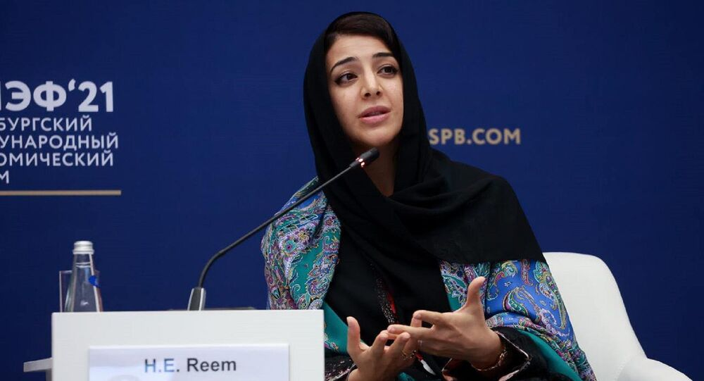 وزيرة الدولة الإماراتية