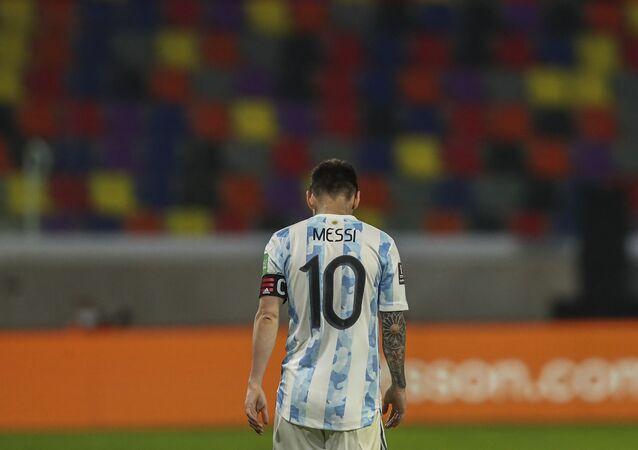نجم المنتخب الأرجنتيني، ليونيل ميسي