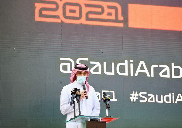 وزير الرياضة السعودي ورئيس اللجنة الأولمبية، الأمير عبدالعزيز بن تركي الفيصل