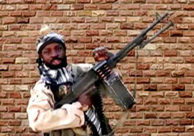 أبو بكر شيكاو زعيم جماعة بوكو حرام الإرهابية