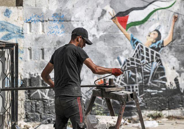 إزالة الركام في غزة