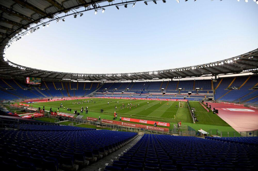 ملعب أولمبيكو في روما، إيطاليا