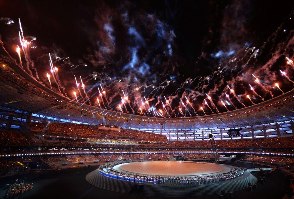ملعب باكو الأولمبي في أذربيجان