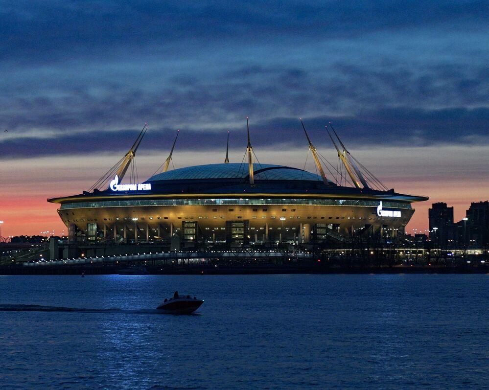 ملعب غاز بروم-أرينا في سان بطرسبورغ، روسيا