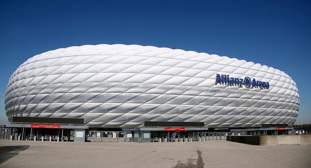 ملعب أليانز أرينا في ميونخ، ألمانيا