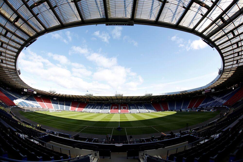ملعب هامبدن بارك في غلاسكو، اسكتلندا