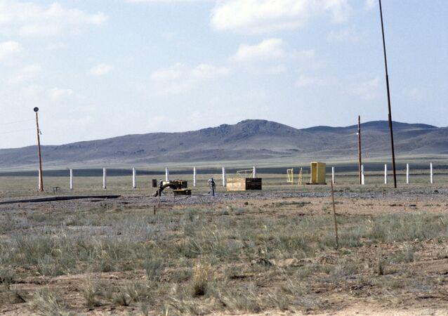 ساحة التجارب النووية