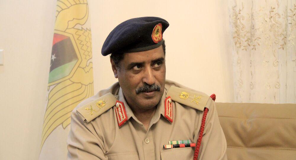 اللواء أحمد المسماري الناطق الرسمي باسم الجيش الوطني الليبي