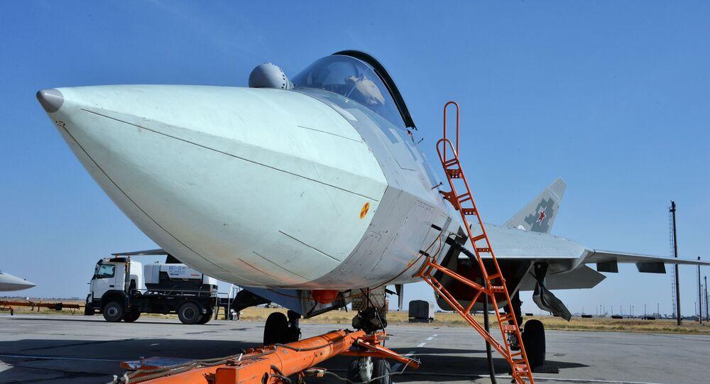 مقاتلة سو-57 من الجيل الخامس