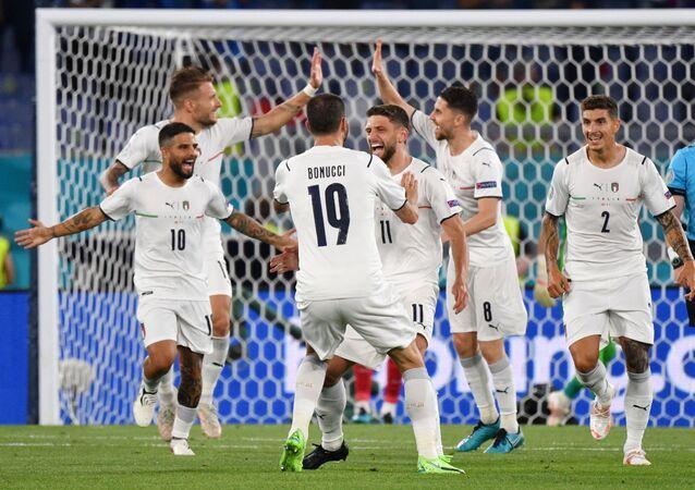 مباراة إيطاليا وتركيا في افتتاح بطولة أمم أوروبا 2020