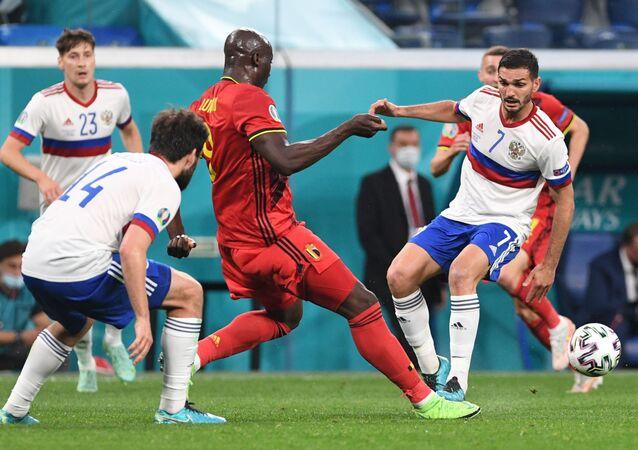 مباراة روسيا وبلجيكا في أمم أوروبا 2021