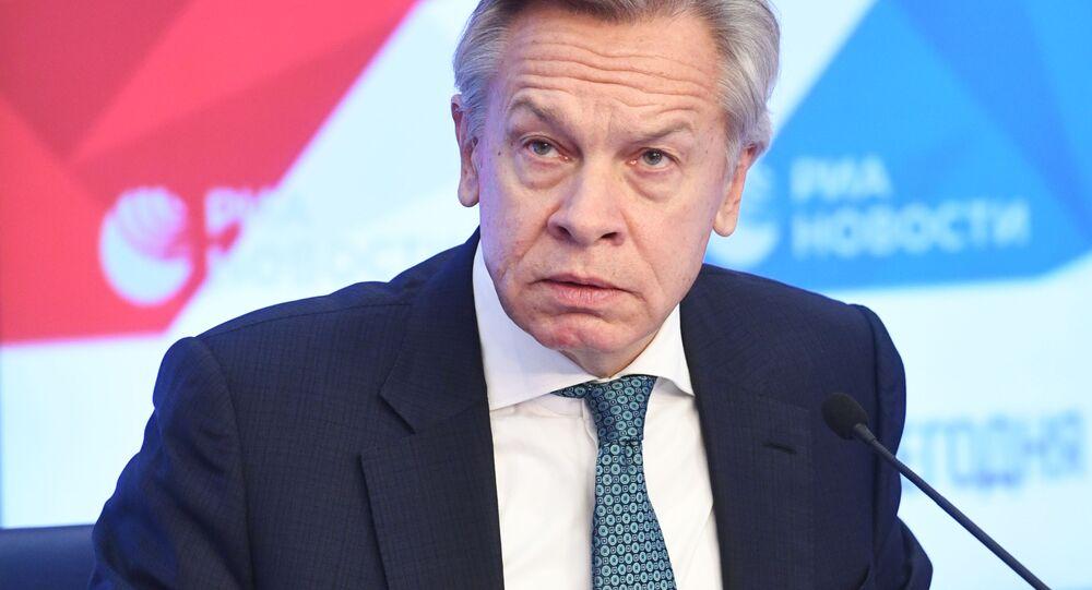 النائب الروسي أليكسي بوشكوف