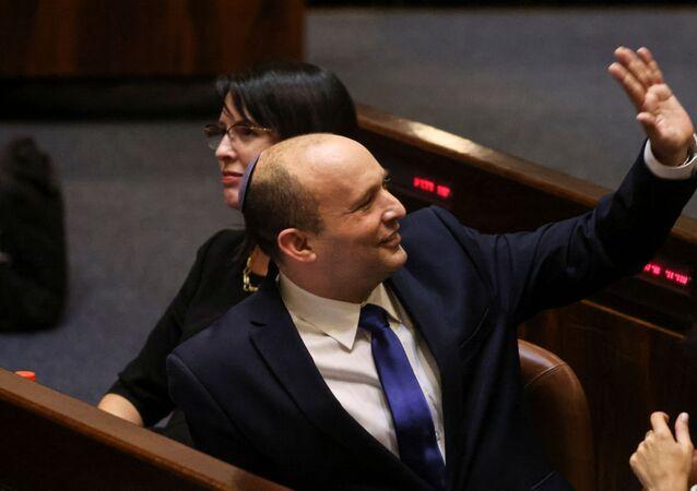 رئيس الوزراء الإسرائيلي الجديد نفتالي بينيت