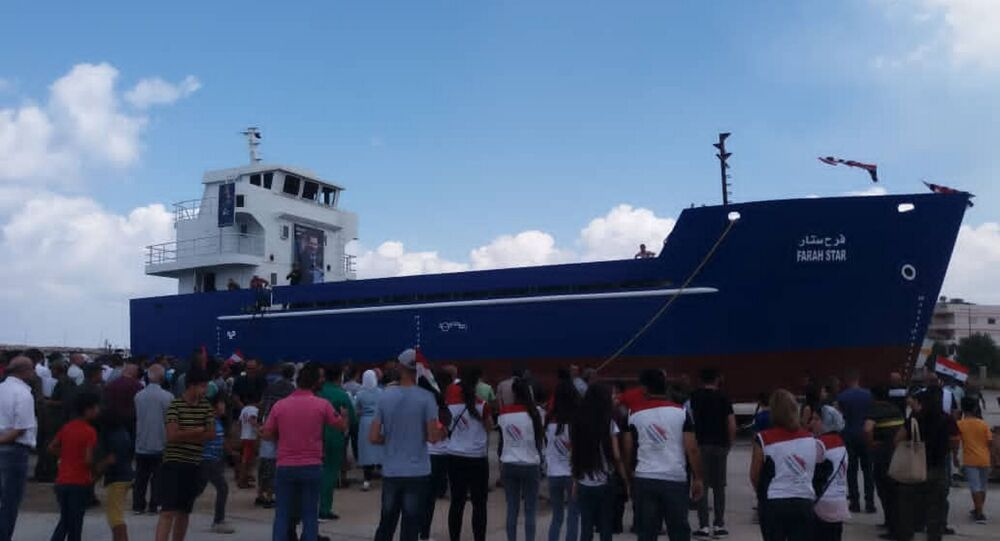 تعويم سفينة فرح ستار السورية