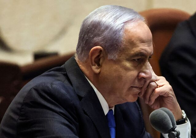 رئيس الوزراء الإسرائيلي السابق بنيامين نتنياهو