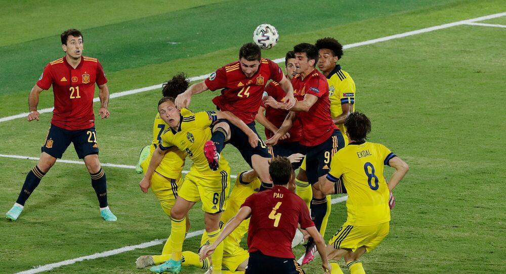 مباراة إسبانيا والسويد