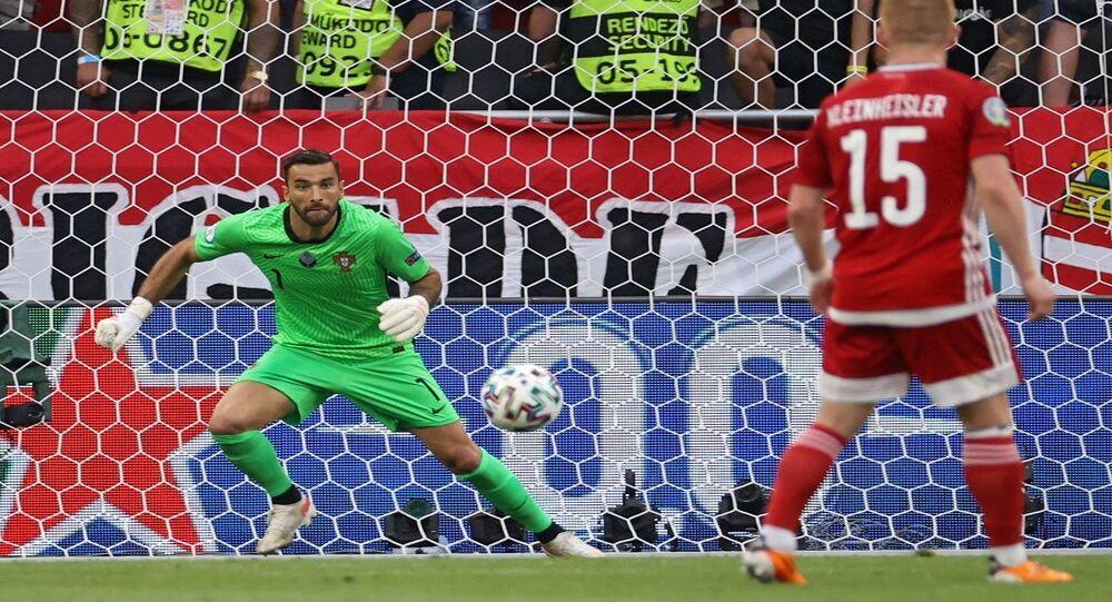 مباراة منتخبي البرتغال والمجر في بطولة الأمم الأوروبية يورو 2020