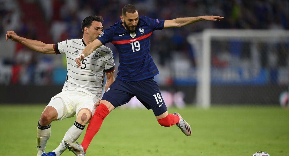 مباراة ألمانيا وفرنسا في يورو 2020