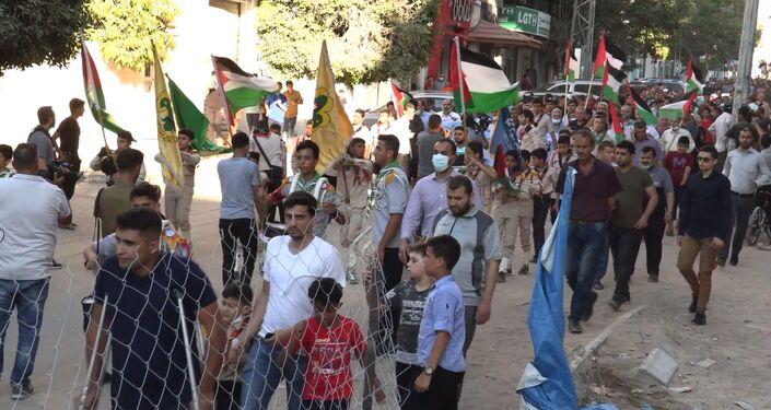 مسيرات حاشدة في قطاع غزة