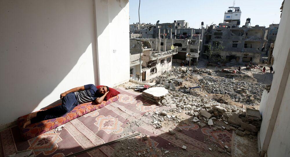 وقف إطلاق النار في قطاع غزة، فلسطين