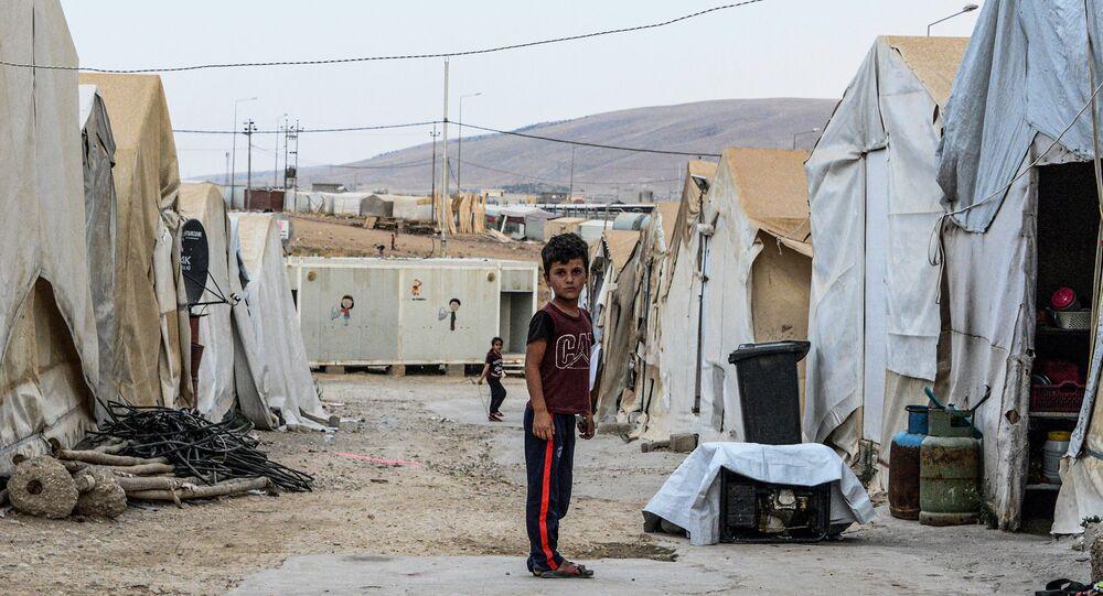 العراق النازحين
