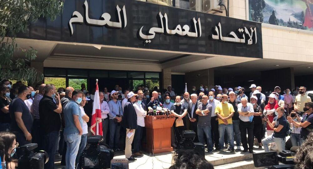 إضراب عام في لبنان
